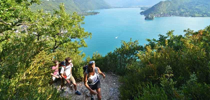 Hiking, Lake Annecy, France.jpg